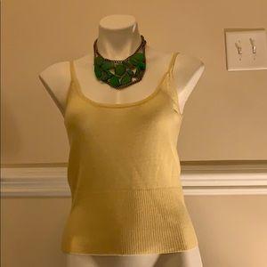 NWT Antonio Melani 100% Cashmere Knit Sweater Top